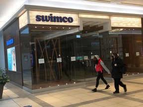 After 45 years in business Swimco has gone bankrupt, on Oct. 19, 2020.