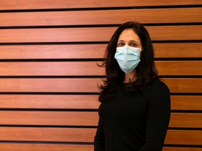 Stephanie Smith, Professor in the Department of Medicine, Division of Infectious Diseases, at the Mazankowski Heart Institute in Edmonton, Tuesday, January 26, 2021.