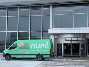 Calgary-based Numi Health is providing rapid COVID-19 testing at the Edmonton International Airport to Suncor Energy workers travelling to northern Alberta.   Supplied image
