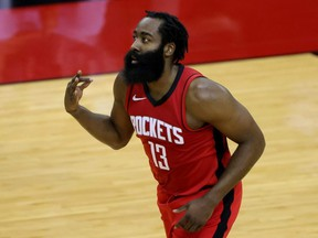 The Houston Rockets will bench James Harden until the team can find a trading partner for the disgruntled star.