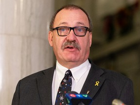 Municipal Affairs Minister Ric McIver said all funds from the increased 911 cellphone levy will go toward technology upgrades, mandated by the federal government, to be in place by March 2024