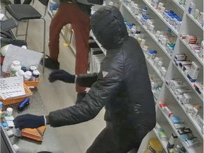 Edmonton Police have arrested six men they believe are responsible for at least 14 armed, violent robberies or attempted robberies have occurred at pharmacies, cellphone stores and a jewelry/antique store between July 2020 and February 2021. Police believe there are more suspects.
