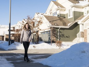 Samantha Lapes bought a townhome in Central Park in Cameron Heights.