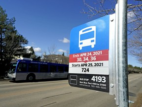 Edmonton's new bus network launched Sunday morning with new routes, schedules, stops and bus numbers.