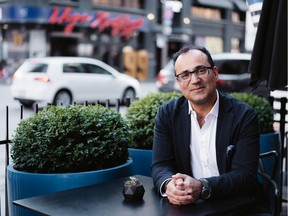 Edmonton expat Dany Assaf has just released his book Say Please and Thank You & Stand in Line.