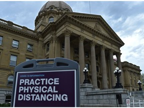 Alberta's provincial government is suspending the spring sitting of legislature for two weeks as 1,731 new COVID-19 cases were reported Sunday.