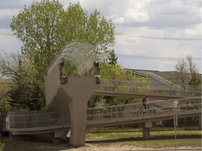 A replacement pedestrian bridge over 170 Street connecting to West Edmonton Mall will cost $8 million to be shared between the city, the mall and Alberta Health Services.