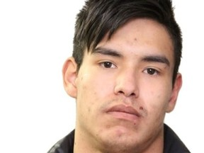 Homicide Section investigators on June 24, 2021, are seeking the public's assistance in locating Montana Houle, 21. Houle is wanted on Alberta warrants for second-degree murder in connection to the deaths of two men in central Edmonton. Supplied.