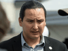 """""""As we heal, every Cowessess citizen has a family member in that gravesite. To know there's some unmarked, it continues the pain,"""" said Cowessess First Nation Chief Cadmus Delorme, seen here in 2019."""