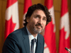 Prime Minister Justin Trudeau during a news conference in Ottawa on Tuesday May 4, 2021.