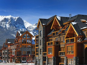 Spring Creek Mountain Village in Canmore.