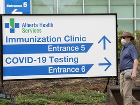 Alberta Health Services opened a drop-in first dose COVID-19 vaccination clinic at the Edmonton Expo Centre, on June 9, 2021.