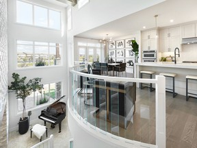 Jayman Built's Sapphire 36 won the category of Best Single-Family Home $600,000 to $700,000 at the CHBA-Edmonton Region's 2021 Awards of Excellence in Housing. Jayman Built was also honoured with the Environmental Recognition Award for large volume builder.