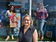 Whyte Avenue Art Walk will be inside the old Army & Navy this summer, starting Friday.