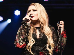 Krissy Feniak's country tunes are slated for the next instalment of Jube Fest at the Jubilee Auditorium on July 29.