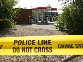 Police were investigating a death beside the Petro-Canada gas station on 107 Avenue and 116 Street that resulted from an assault on Monday, July 12, 2021. It has since been ruled a homicide.