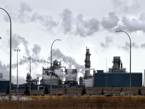 Shell's Scotford refinery and chemicals plant near Edmonton.