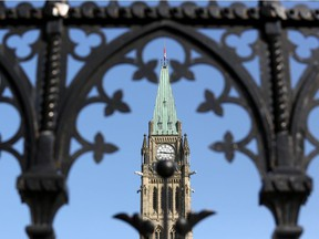 The Peace Tower on Parliament Hill. Prime Minister Justin Trudeau has called a snap election for Sept. 20.