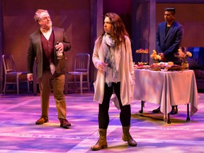 The Garneau Block, based on the novel by Todd Babiak and adapted by Belinda Cornish, plays at the Citadel through Oct. 10.