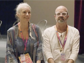 Divina Stewart and Trevor Schmidt talk to Paula Simons about the 2021 Fringe in her new online doc.