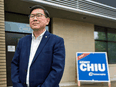 Due to a private members bill critical of China that Conservative Kenny Chiu introduced last April, he was hounded by supporters of the Chinese Communist Party during the federal election.