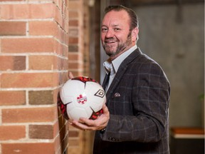 Canadian Premier League commisioner David Clanachan