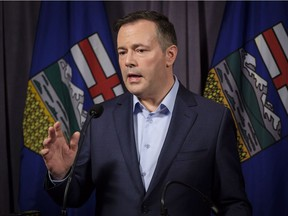 UCP Leader Jason Kenney in a 2018 file photo.