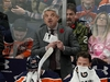 Edmonton Oilers head coach Todd McLellan looks up at the clock during his team's 4-1 loss to the Colorado Avalanche in NHL hockey game action in Edmonton on Sunday November 11, 2018. (PHOTO BY LARRY WONG/POSTMEDIA)