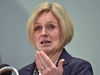 Premier Rachel Notley held an advanced news conference with highlights for the upcoming 2019 throne speech in the afternoon, in Edmonton, March 18, 2019. Ed Kaiser/Postmedia