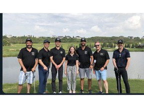 The Mark Spector Gold Classic charity tournament at the Quarry Golf Club.