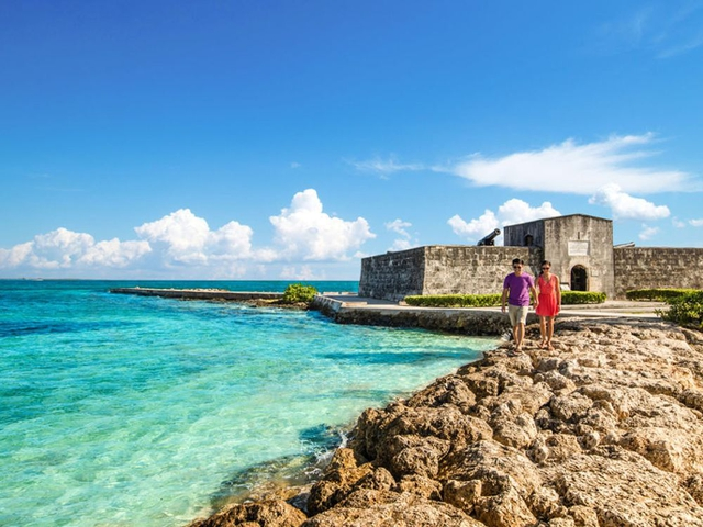 Nassau has several historic sites to explore, including three forts, the oldest dating back to 1725. Pamela Roth