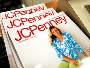The Spring catalogue is on display at the J.C. Penney store in Westminster, Colo., Feb. 20, 2009.