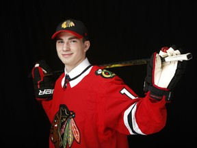Fort Saskatchewan's Kirby Dach was selected third overall by the Chicago Blackhawks in the 2019 NHL Draft at Rogers Arena on June 21, 2019 in Vancouver.