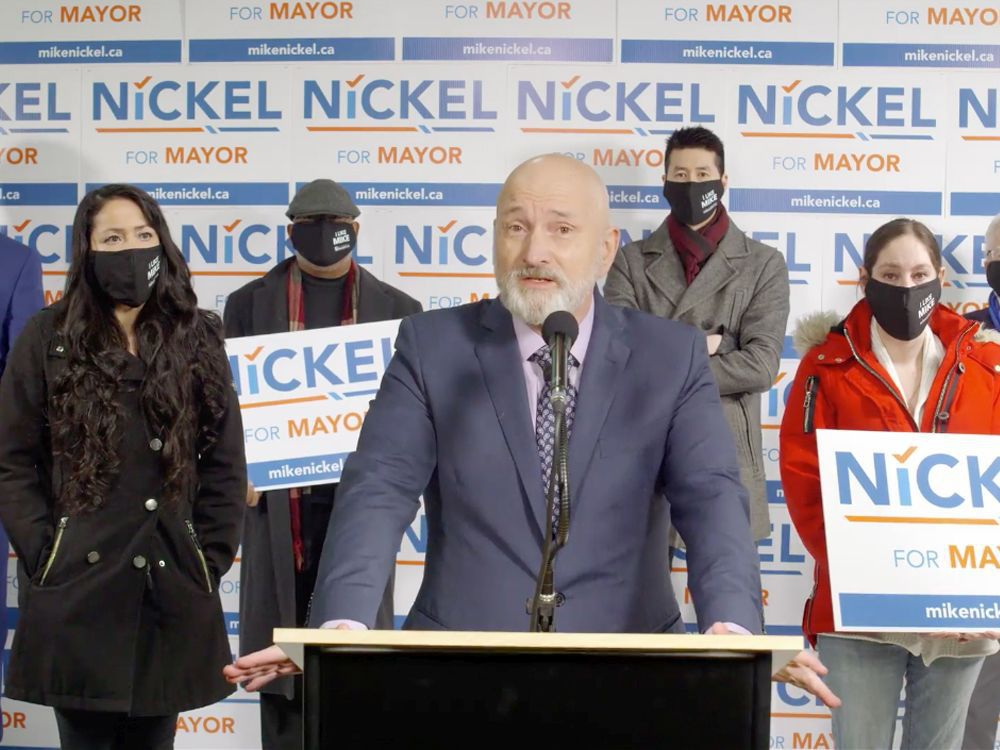 Nickel becomes third candidate to announce bid for Edmonton's vacant mayoral seat