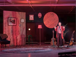 Local musician and playwright Dana Wylie stars in Makings of a Voice, the centrepiece of this year's SkirtsAfire Festival.
