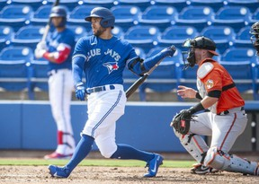 Springer won't be in the lineup when the Jays begin a three-game series against the Rays Friday night at Tropicana Field, but a weekend appearance remains a possibility. The Canadian Press