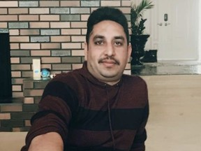 Police have charged Gamdur Brar, 43, of Strathcona County with first-degree murder and attempted murder. Gamdur Brar's Facebook profile states he is the manager and owner of Park Place Funeral Home in Sherwood Park, one of the businesses named in the decision as being owned by the Brar's numbered company where the Funeral Act violations occurred. May 2021 Facebook photo