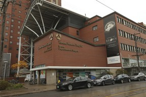 Toronto Western Hospital on Bathurst at Dundas St. W. is pictured on Monday, October 19, 2020.