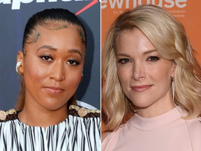 Naomi Osaka and Megyn Kelly got into a Twitter feud over the tennis pro's recent magazine covers.