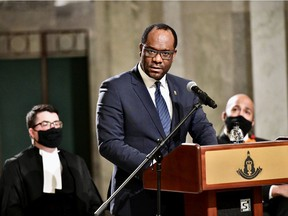 Minister of Justice and Solicitor General of Alberta Kaycee Madu.