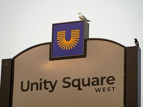 Oliver Square shopping centre in downtown Edmonton has been renamed Unity Square.
