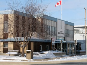 The Wetaskiwin Civic Building, 4904 51 St., will operating as the 24/7 Integrated Response Hub— run by The Open Door Associationthis winter season. While this location had been used to facilitate an emergency shelter previously, the 24/7 Integrated Response Hub is not a shelter and offers comprehensive wrap-around services for those in need—including a  24-hour drop-in centre.  Times file photo