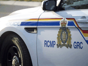 RCMP and local emergency services responded to a fire at petroleum tank farm north of Highway 640 Saturday evening.