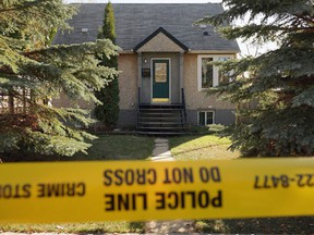 Police were investigating a suspicious death on Saturday, Oct. 9, 2021 that occurred at a residential home located at 10919 67 Ave.