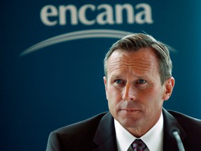 Encana CEO and president Doug Suttles  Suttles.