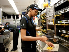 McDonald's has struck an agreement with Ontario colleges which allows some of its management training to apply as credit for a college business diploma,