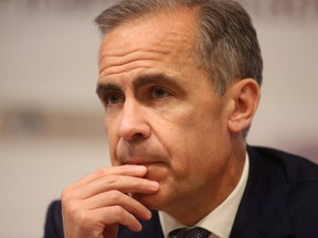 A task force struck by Mark Carney called for better reporting of financial risks due to climate change policies.