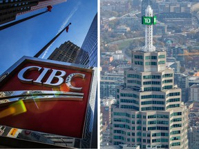 Toronto-Dominion Bank and Canadian Imperial Bank of Commerce both reported earnings ahead of expectations on Thursday.