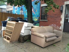 Many of us buy chairs, tables, dressers, shelving units and desks, and then dump them in a few years or less. It's cheap and looks good initially, but when our tastes change, we kick it to the curb.