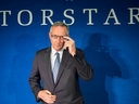 TorStar President and CEO David Holland attends the company's annual general meeting in Toronto.
